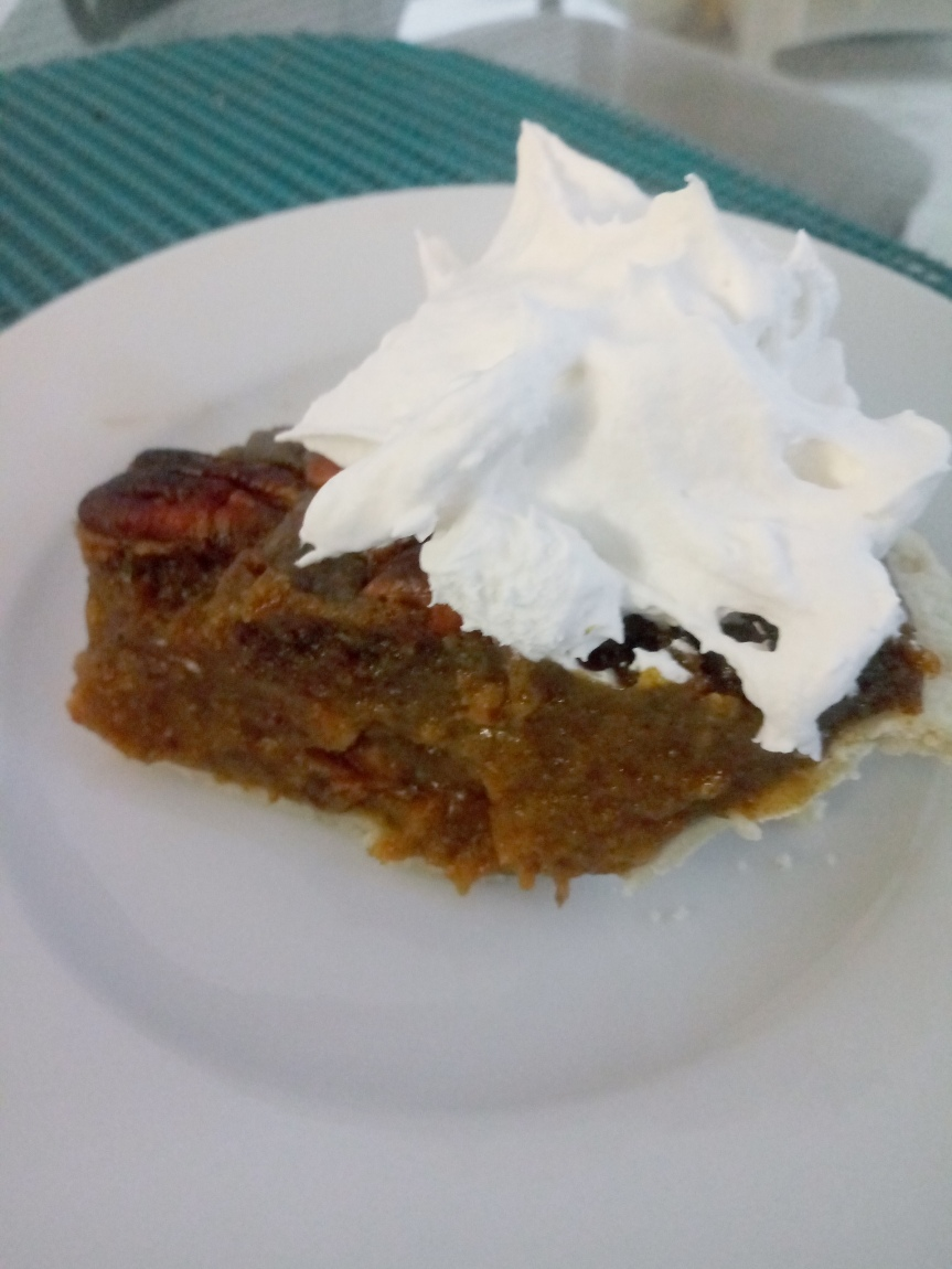Vegan Pecan Pumpkin Pie