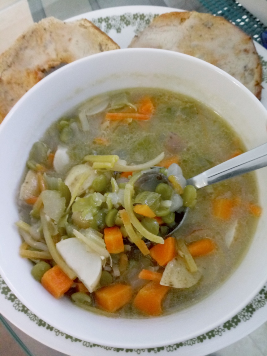 Split Pea Soup, Two Ways
