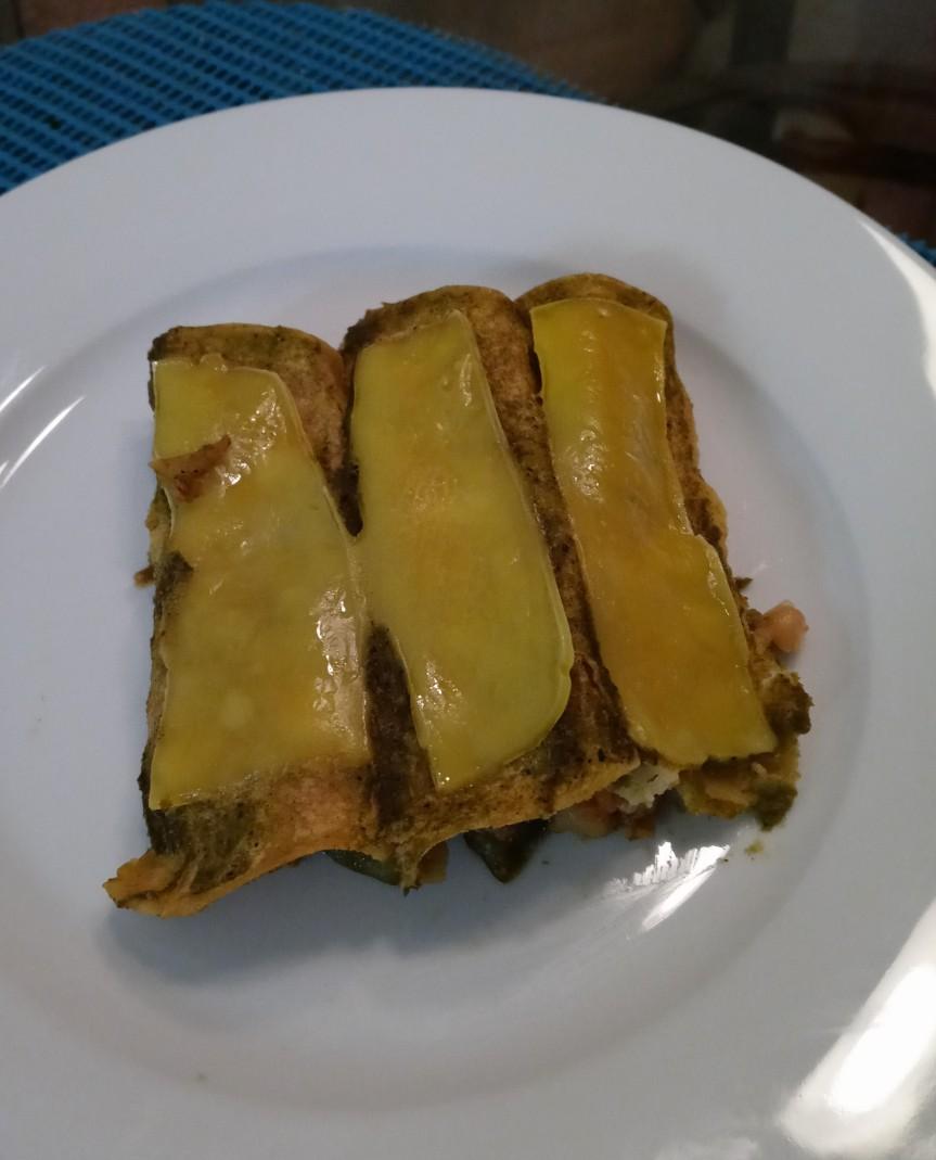 Vegetarian Green Enchiladas