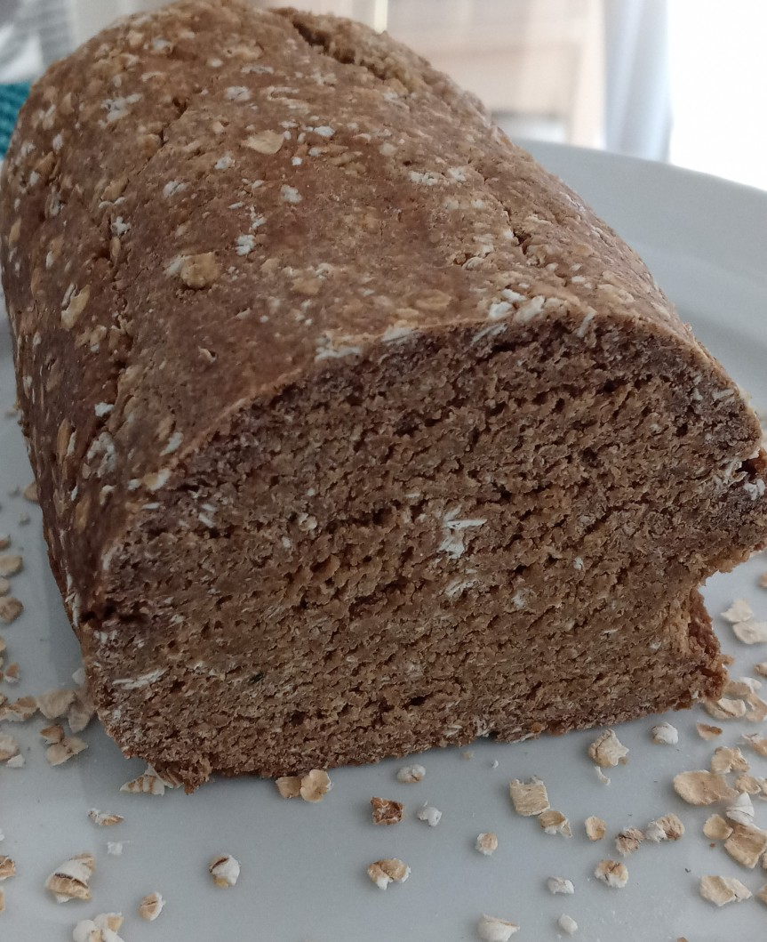 Vital Wheat Gluten Vegan Oat Bread
